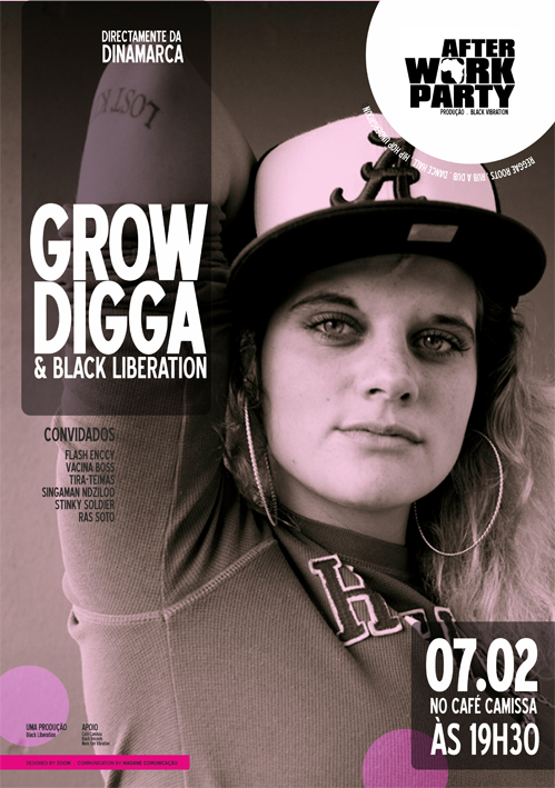 GROW DIGGA & BLACK LIBERATION LIVE IN MAPUTO, MOCAMBIQUE!